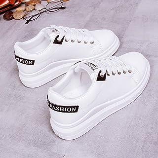 ASMCY Mujer Zapatos Deportivos Planos, Al Aire Libre Ligero Moda Zapatos para Correr, Caminando y Trotar Zapatillas, Adole...