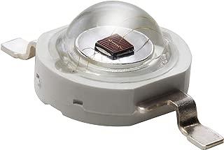 Iluminaci/ón del Acuario 1W Componente LED de Alta Potencia 1 x LED Crecen luces y proyectos electr/ónicos Amarillo 595nm Diodo Emisor de Luz en 20mm placa de circuito impreso PCB