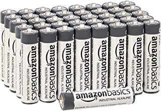 Amazon Basics Lot de 40 piles alcalines AAA industrielles