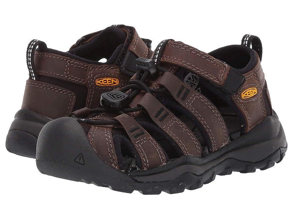 Keen Kids Newport Neo Premium (Toddler/Little Kid) (Dark Brown) Boys Shoes