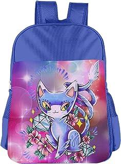 Glameow Pokemon Children's Bags Kid School Bag Boy Girl Backpack