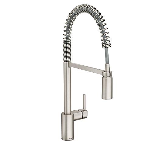 Moen Kitchen Faucet Brushed Nickel: Amazon.com