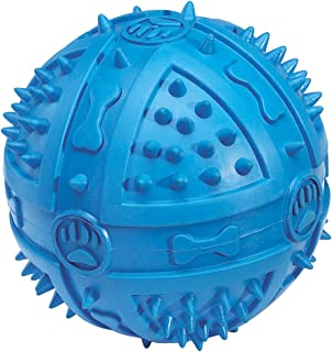 Grriggles Rubber Chompy Romper Ball Dog Toy