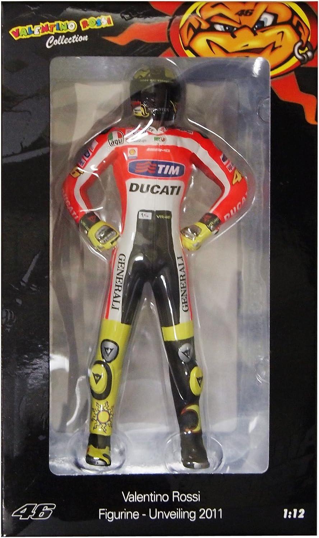 Minichamps 312110846 Pilota Valentino Rossi Ducati MotoGP 2011 1 12 Valentino Rossi Collection