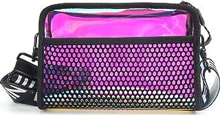 ALAIX Crossbody Bag for Women Teenager Girls Fashion Messenger Laser Shoulder Bag Stylish Waist Pack Bag Handbags