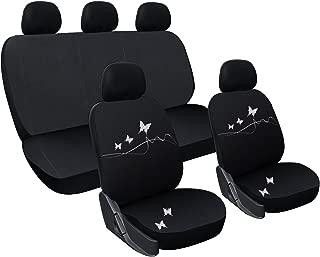 WOLTU AS7350-2 Coprisedile Anteriore Universale 2 Pezzi per Van Seat Cover Protezione per Sedile della Macchina Poliestere Pelle Colorato
