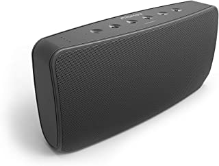 Promate Bluetooth Speaker, Premium 40W Passive Radiator Speaker with Built-In Mic, 20W Subwoofer, 10W Dual Tweeters, 5200mAh Power Bank and 3.5mm Jack for All Bluetooth Enabled Devices, Concerto