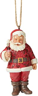 Enesco Coca-Cola by Jim Shore Santa with Coca-Cola Ornament