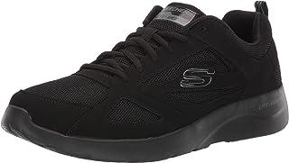 حذاء تدريب للرجال برباط من الجلد الصناعي ذو شعار شبكي يحمل شعار ديناميت 2.0 من سكيتشرز