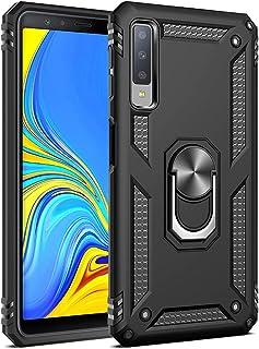 Hicaseer Galaxy A7 (2018) Case, PC+TPU Anti-drop Anti-shock Anti-scratch Magnetic 360 Degree Rotating Kickstand Full Cover...