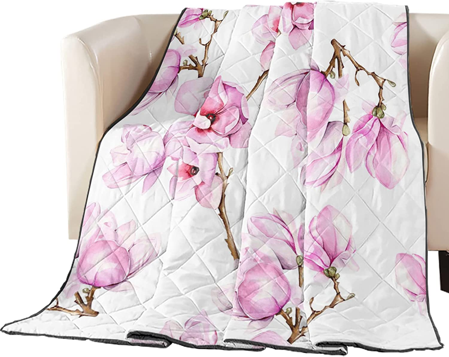 Luck Sky Premium Brand Cheap Sale Venue New product type Coverlet Diamond Stitched Quilted Pink 90x102in