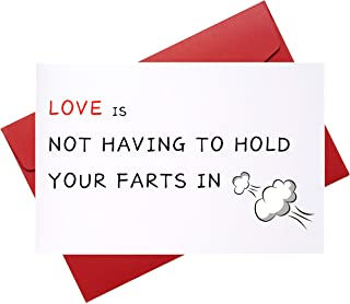 Naughty Birthday Card for Him, Humor Anniversary Card for BF GF Husband Wife