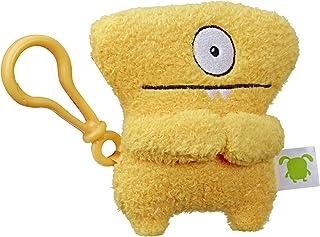 "Hasbro Uglydolls Wedgehead to-Go Stuffed Plush Toy with Clip, 5"" Tall"