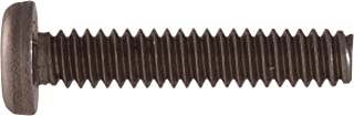 Pack of 50 3//4 Length Stainless Steel Machine Screw #8-15 Pan Head Tamper-Resistant Drilled Spanner Drive