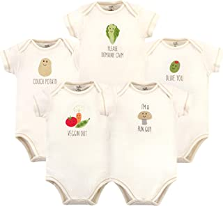 Touched by Nature Baby Girls` Organic Cotton Bodysuits