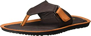BATA Boy's Wave Jr Tan Flip-Flops - 4 Kids UK/India (22 EU)(4713159)