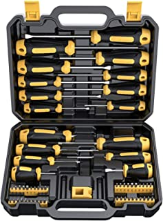 Magnetic Screwdriver Set 57 PCS Includes Slotted/Phillips/Torx Mini Precision..