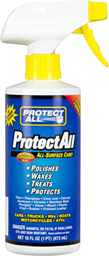 Protect All 62016 All-Surface Care Cleaner, Wax, Polisher and Protector - Interior and exterior use, 16 oz.