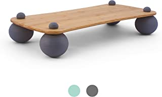 Pono Board - The Level Motion Balance Board - mOcean Orb Base Creates Level Movement, Like Floating on Water, Boosting Core Strength at Your Standing Desk, and with All Exercises