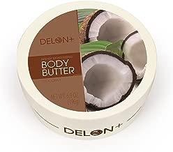 Delon Coconut Body Butter, Coconut, 6.8 Ounce