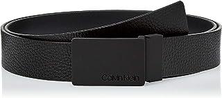 Calvin Klein Men's 3.5CM ADJ/REV PLAQUE GIFTSET Belts