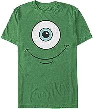 Fifth Sun Monsters Inc Men's Mike Wazowski Eye Smile T-Shirt