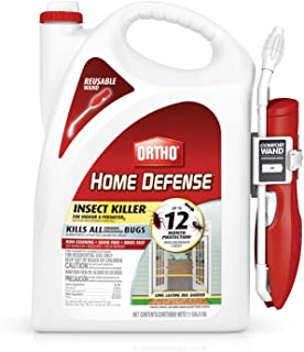 Best Ortho 0220910 Home Defense Insect Killer for Indoor & Perimeter2 with Comfort Wand Bonus Size, 1.1 Gal Reviews