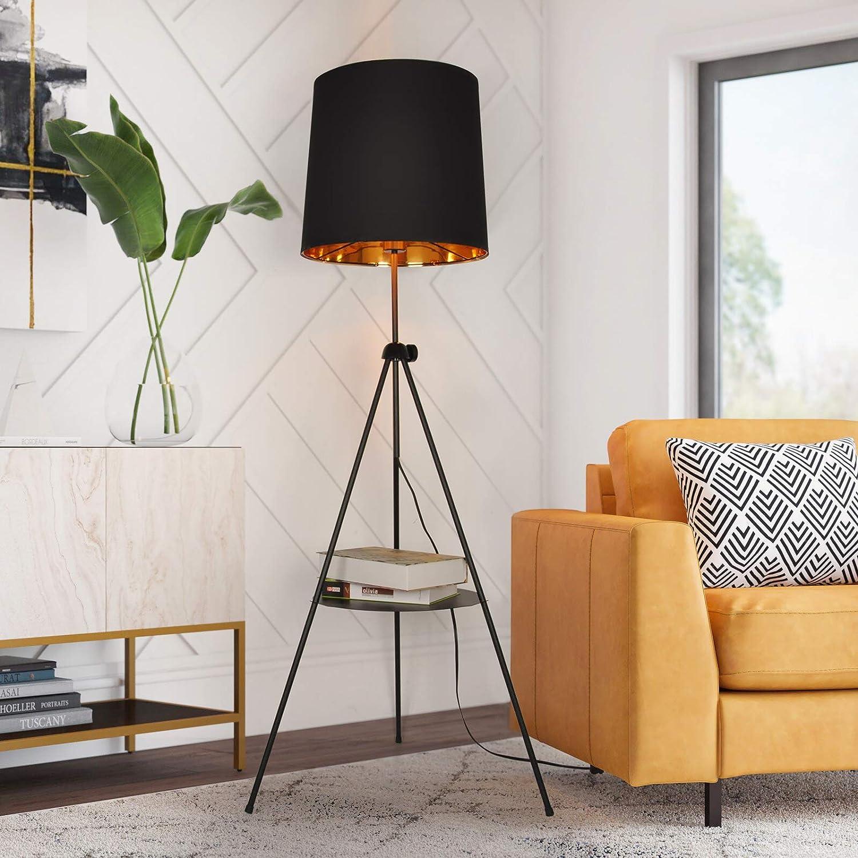 Genuine Tripod Floor Lamp with Sale Shelf Living Adjustabl for Room Bedroom