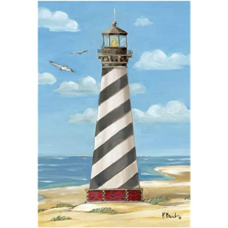Briarwood Lane Sunset Lighthouse Summer House Flag Nautical 28 X 40 Garden Outdoor