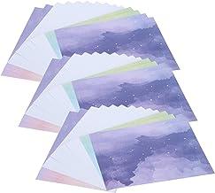 Papier d'album, Accessoires de Bricolage, Papier de Scrapbooking 42 pièces, pour Cartes de voeux Faites à la Main Emballag...