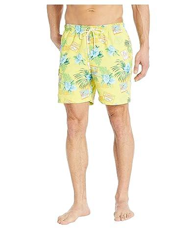 Tommy Bahama Naples Aloha From Paradise Volley (Yellow Daisy) Men
