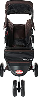 Baby plus BP7740 Foldable and Multifunctional Stroller, Coffee