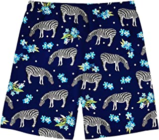 Abstract Animal 3D Print Men Swim Trunks Quick Dry Summer with Pocket Drawstring