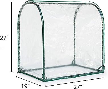 Topline Outdoor Mini Garden Greenhouse - 27 Inch