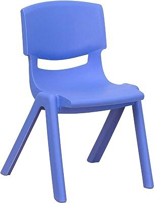 Amazon.com: WF-chairs Silla de plástico - Silla de respaldo ...