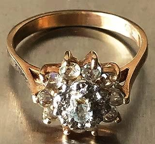 Beautiful 10 Karat Gold Diamond Ring - Great Condition - 3.25 Grams