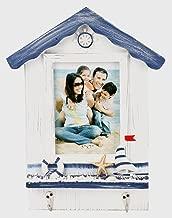 UberLyfe Beach Theme with House Shape Photo Frame - 13cm x 18cm (PF-000607-WMHOU57)