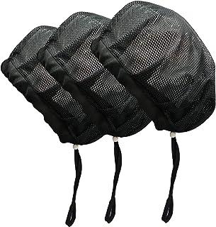 Adjustable Chef Cap Elastic Cooking Hat Food Service Hair Nets Mesh Kitchen Net Reusable Restaurant Bouffant