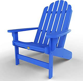 Original Pawleys Island DWAC1BLU Durawood Essentials Adirondack Chair, Blue