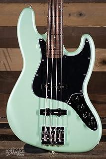 Fender エレキベース Deluxe Active Jazz Bass®, Pau Ferro Fingerboard, Surf Pearl フル