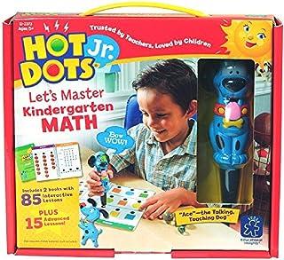Educational Insights 2373 Hot Dots Jr. Let's Master Kindergarten Math Set with Ace Pen