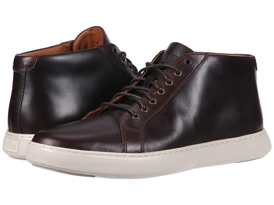 FitFlop Andor Smooth Leather (Dark Oxblood) Men