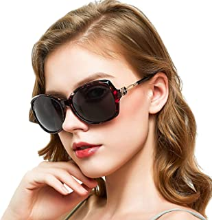 Oversized Sunglasses for Women, Polarized Women...