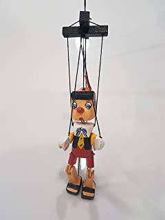 Bongjas Dream Handmade Wooden Pinocchio Marionette Puppet Home Decor Ornament