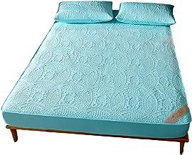 Mattress Protector Breathable Cover Anti-Wrinkle Fade Resistant Best Season Waterproof Protecotor Easy Clean Deep Pocket P...