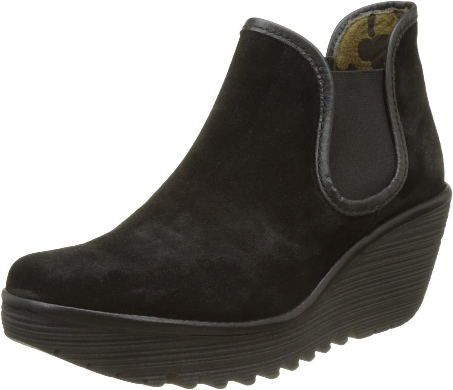 Fly London Womens Yat Suede Boots