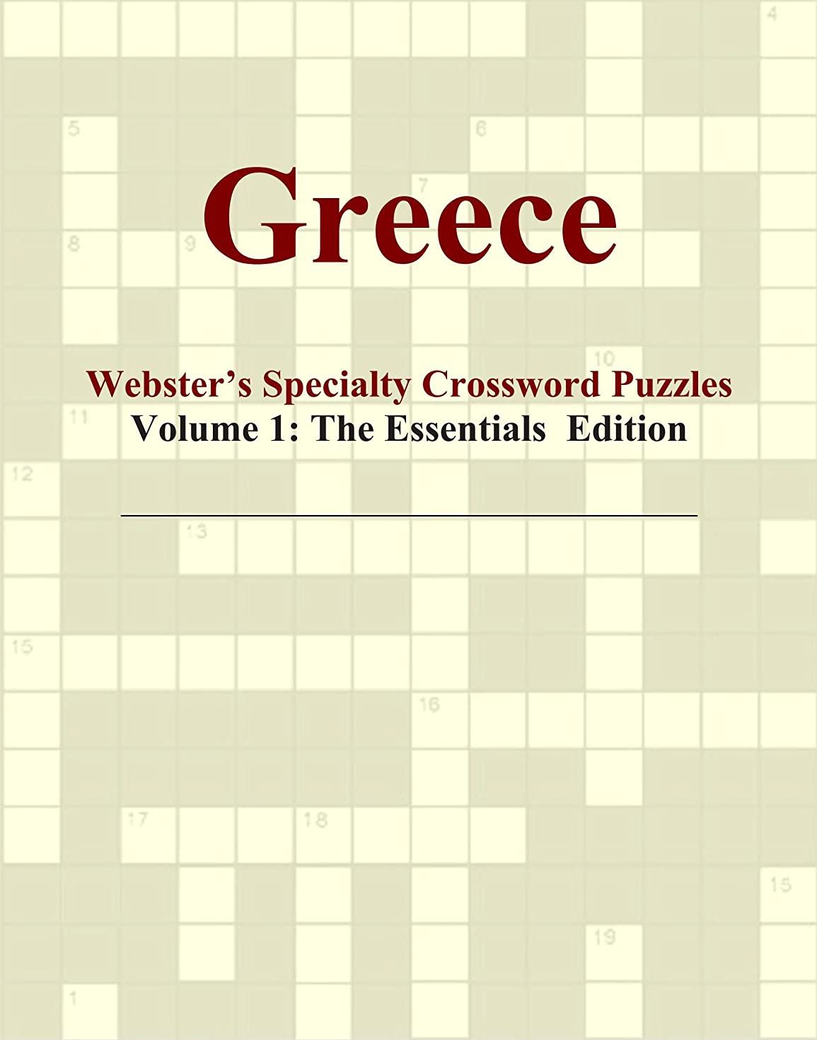 心から器具ハッピーGreece - Webster's Specialty Crossword Puzzles, Volume 1: The Essentials Edition