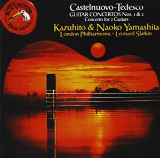 Castelnuovo-Tedesco Guitar Concertos Nos. 1 & 2, Concerto for 2 Guitars