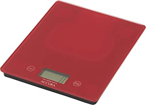 ACCURA ACC5019RD Eos Scales & Timers, Red