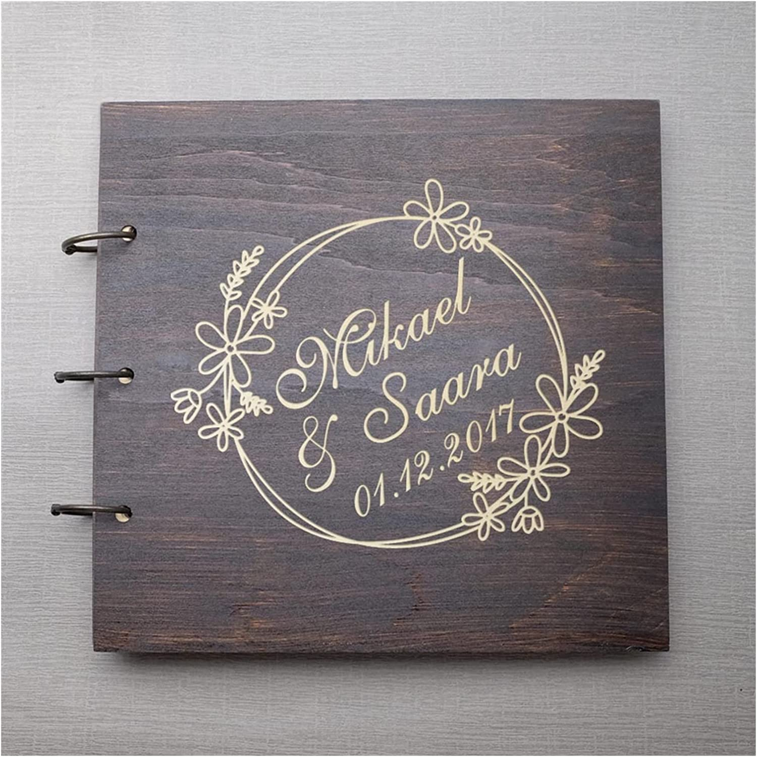 HUMINGG Wedding Guest Ranking TOP19 Book Popularity Boo Personalized Wooden